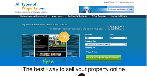 Real Estate Portal Design And Development Web Design